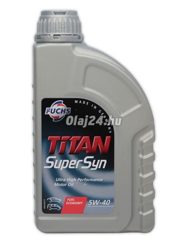 fuchs titan supersyn 5w 40 akci s 1l 1 liter. Black Bedroom Furniture Sets. Home Design Ideas